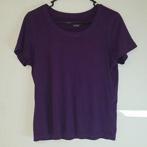 Christopher & Banks Purple Shirt